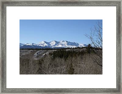Mt. Massive Framed Print by Heather Ormsby