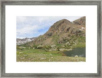 Mt. Massive Wilderness 3 Framed Print by Tonya Hance