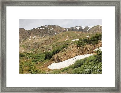 Mt. Massive Wilderness Framed Print by Tonya Hance