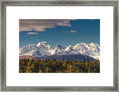 Mt Mckinley- Alaska Framed Print
