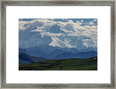 Framed Print featuring the photograph Denali by Gary Lengyel