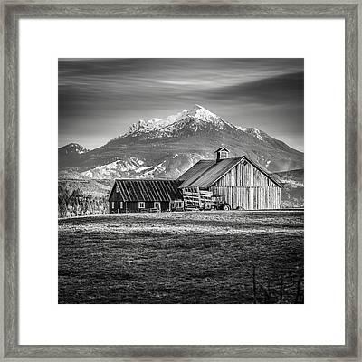 Mt Pilchuck Framed Print