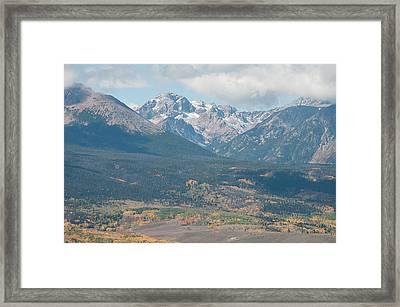 Mt. Powell - Gore Range Framed Print