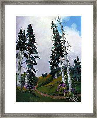 Mt. Rainier 3 Framed Print