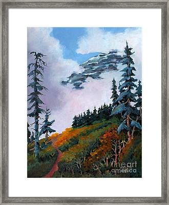 Mt. Rainier 4 Framed Print