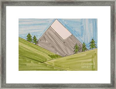 Mt. Rainier National Park Framed Print by Jana Kelly