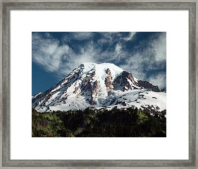 Mt Rainier - Washington State Framed Print