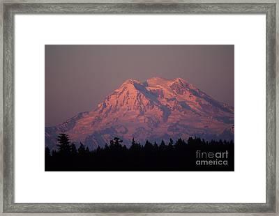 Mt. Rainier Washington Framed Print by Robert  Torkomian