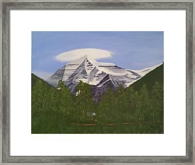 Mt. Robson, Bc Framed Print