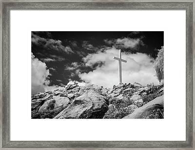 Mt. Rubidoux Framed Print