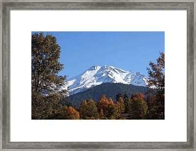 Mt. Shasta Framed Framed Print by Holly Ethan