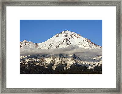 Mt. Shasta Summit Framed Print