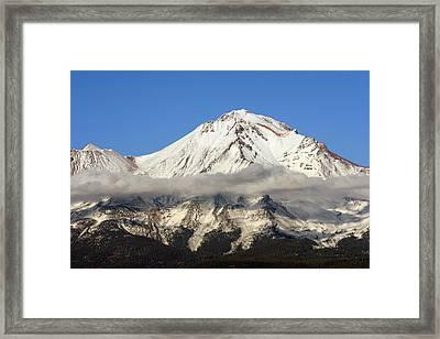 Mt. Shasta Summit Framed Print by Holly Ethan