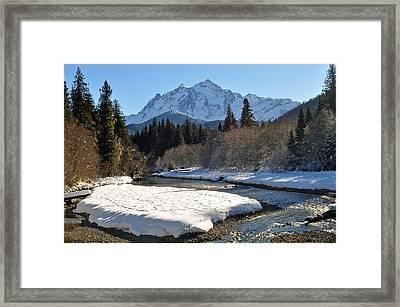 Mt Shuksan  Framed Print by Matthew Adair