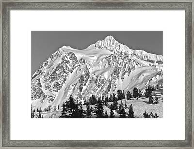 Mt Shuksan Framed Print