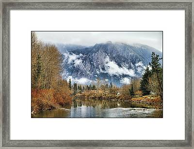 Mt Si Framed Print