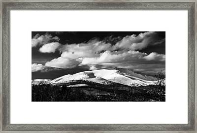 Mt. Silverheels Fairplay Colorado Framed Print by Dennis Wagner