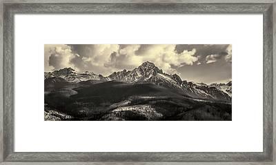 Mt. Sneffels Framed Print