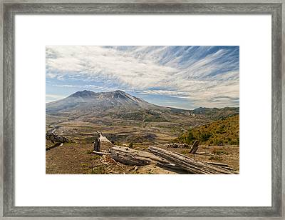 Mt St Helens Framed Print by Brian Harig
