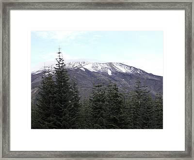 Mt. St. Helens Framed Print by Mark Camp