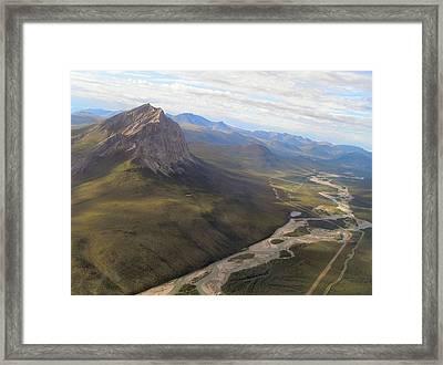 Mt. Sukakpak Framed Print by Adam Owen