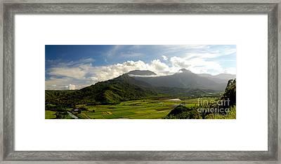 Mt. Waialeale Framed Print