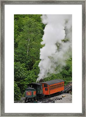 Mt Washington Cog Railroad Framed Print