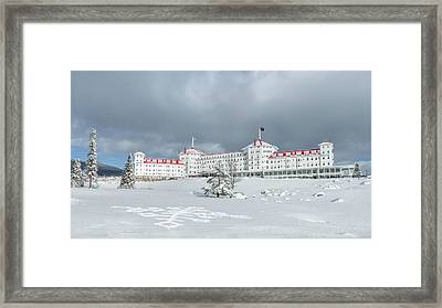Mt. Washington Hotel Framed Print