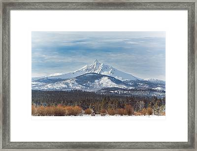 Mt. Washington Framed Print by Joe Hudspeth