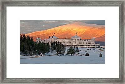 Mt. Washinton Hotel Framed Print