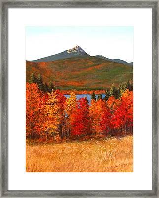 Mt.chocorua Framed Print by Jack Skinner