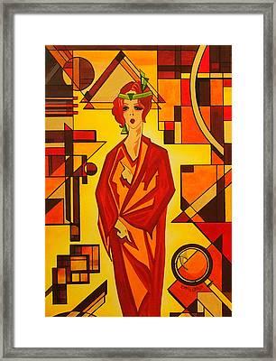 Art Deco Vogue Framed Print