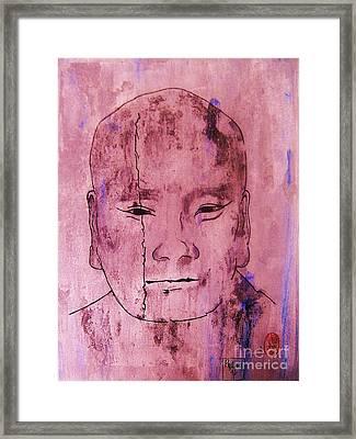 Muchaku Of Kamakura Framed Print