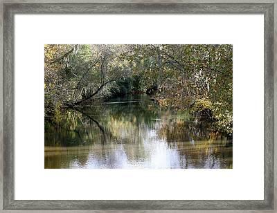 Muckalee Creek Framed Print