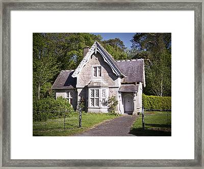 Muckross Cottage Killarney Ireland Framed Print