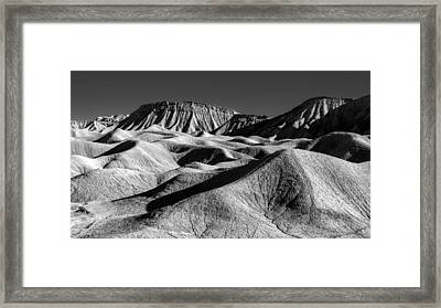 Mud Hills And Elephant Knees Framed Print by Joseph Smith