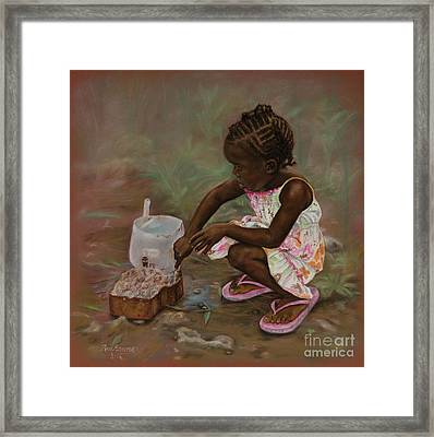 Mud Pies Framed Print