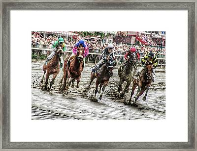 Mudders Framed Print