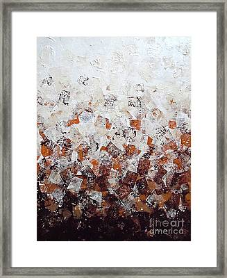Muddy Bricks Framed Print