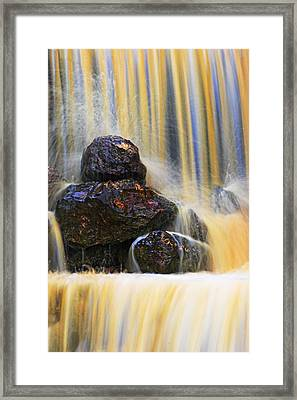 Muddy Water-st Lucia Framed Print