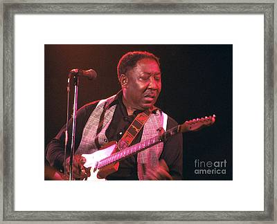 Muddy Waters 1978 Framed Print
