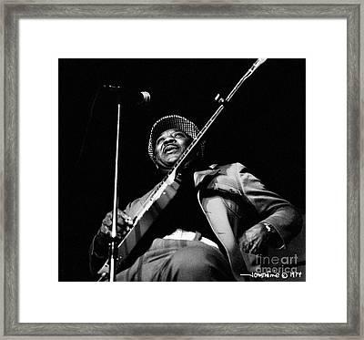 Muddy Waters 3 Framed Print