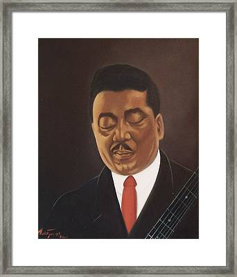 Muddy Waters  Framed Print by Helen Thomas