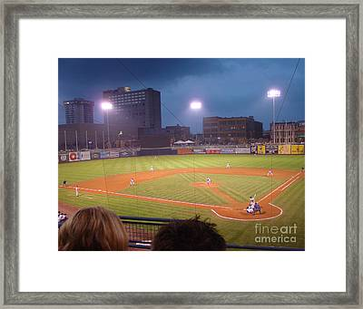 Mudhen's Game Framed Print