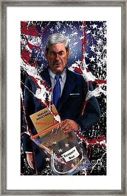 Mueller All The Kings Men 1 Framed Print