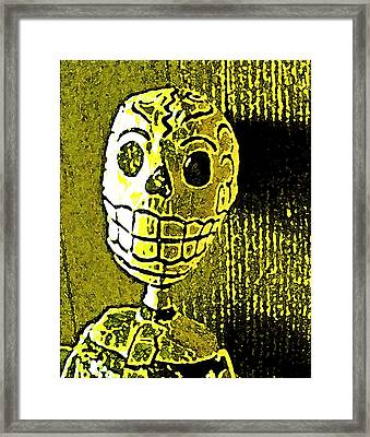 Framed Print featuring the photograph Muertos 1 by Pamela Cooper