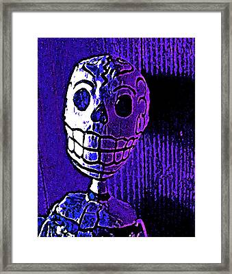 Framed Print featuring the photograph Muertos 2 by Pamela Cooper