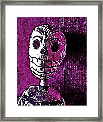 Framed Print featuring the photograph Muertos 3 by Pamela Cooper