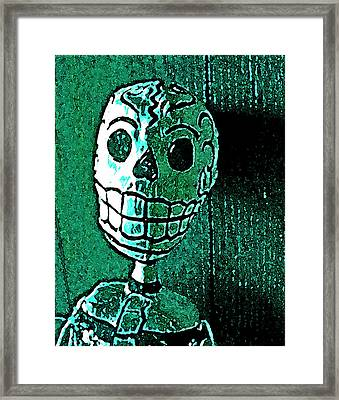 Framed Print featuring the photograph Muertos 4 by Pamela Cooper