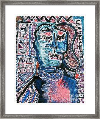 Muff II Framed Print